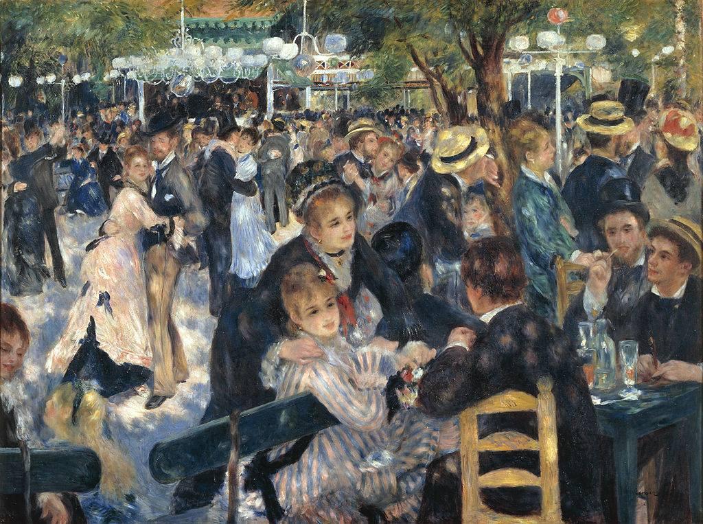 Χορός στο Le Moulin de la Galette 1876