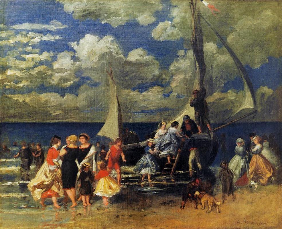 Η Επιστροφή από τη Βαρκάδα 1862