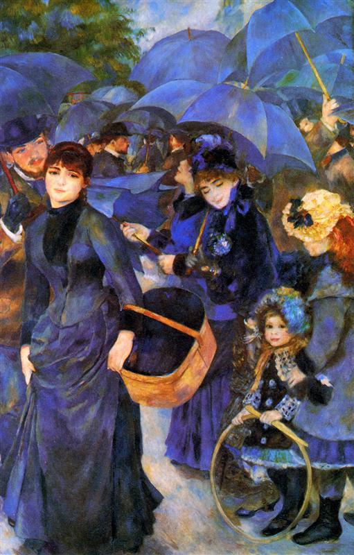 Ομπρέλες 1886
