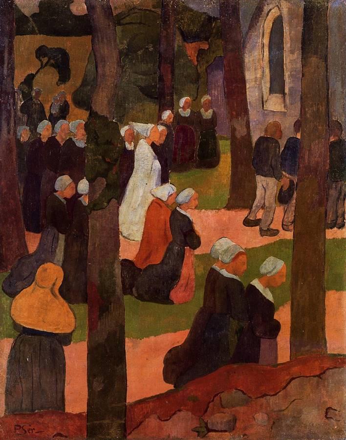 Κυριακή στο Breton Paul Serusier - 1890