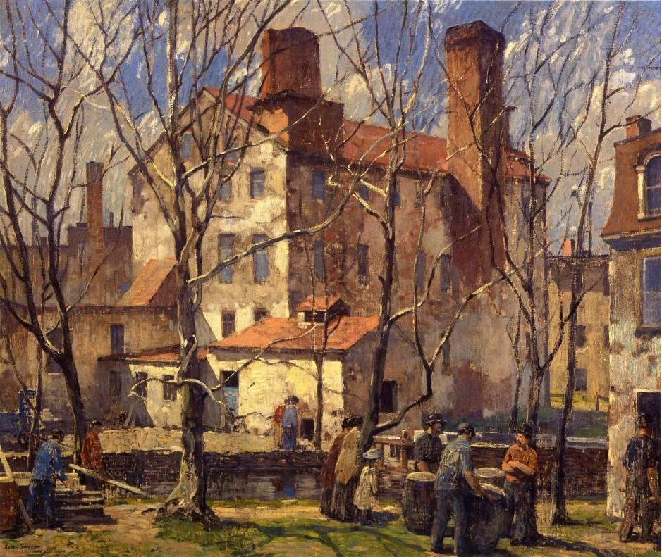 Μια μέρα του Μαρτίου - Robert Spencer - c1918