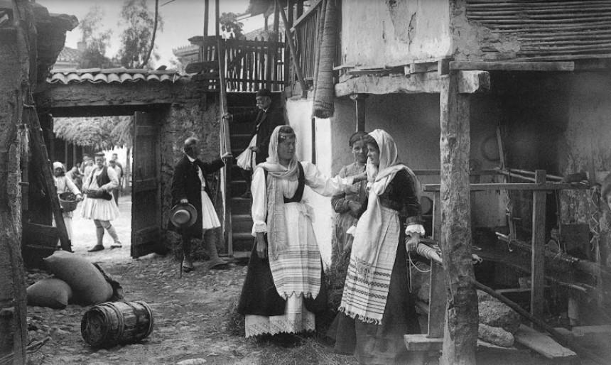Ακράτα, αυλές 1903 - Φρεντ Μπουασονά