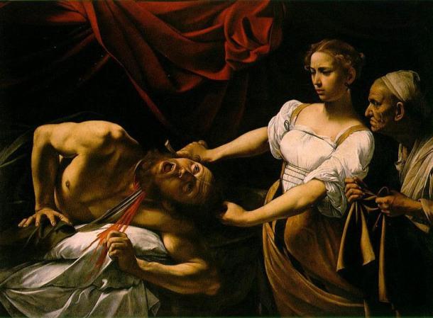 Ο αποκεφαλισμός του Ολοφέρνη από την Ιουδίθ - Caravaggio