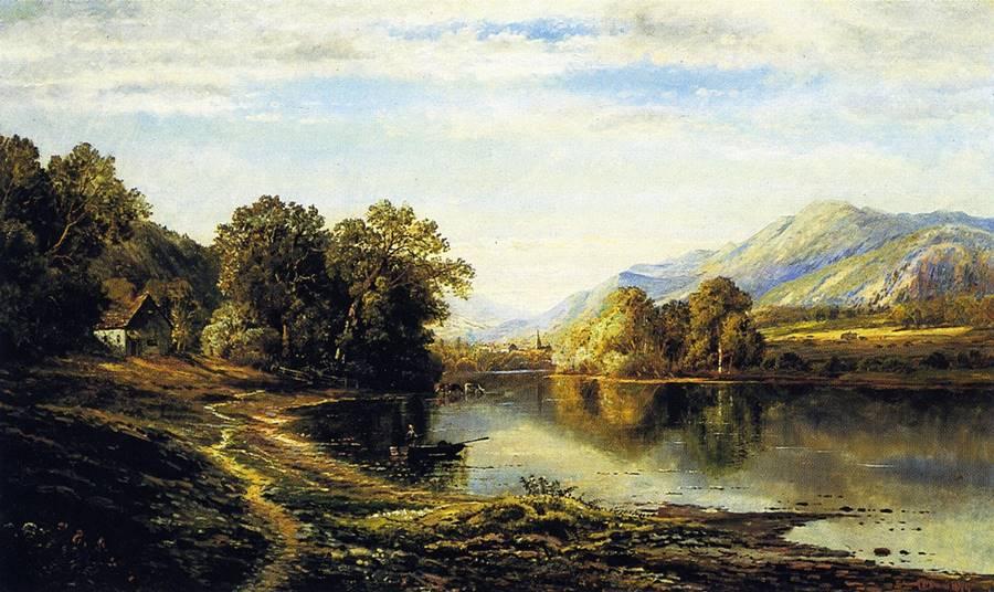Τεμπέλικη Κυριακή- Edmund Darch Lewis - 1874