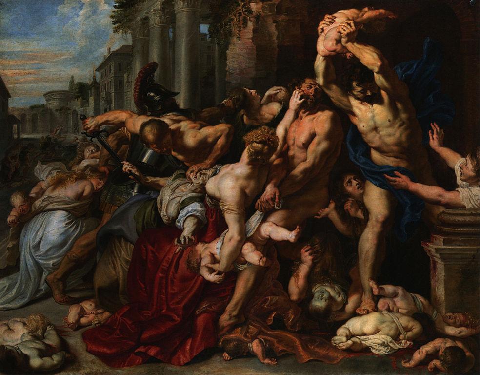 Η σφαγή των αθώων - Peter Paul Rubens
