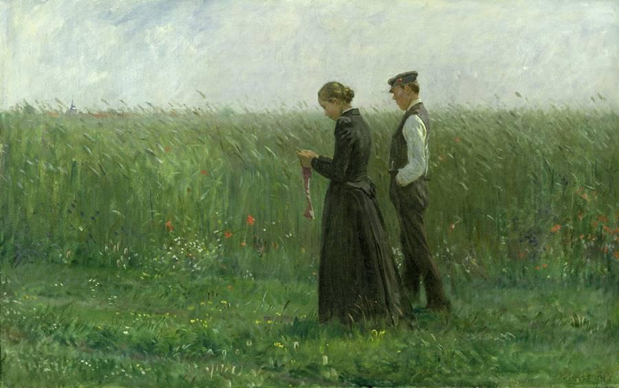 Απόγευμα Κυριακής - Count Leopold von Kalckreuth - 1893