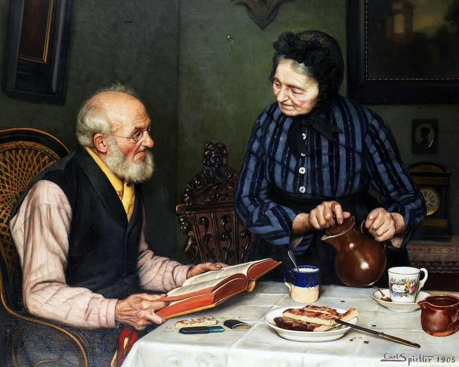 Απόγευμα Κυριακής - Carl Johann Spielter - 1905