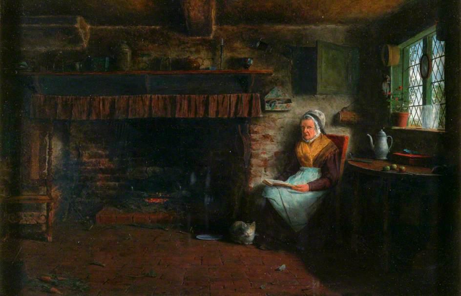 Απόγευμα Κυριακής - Frederick Daniel Hardy - 1852