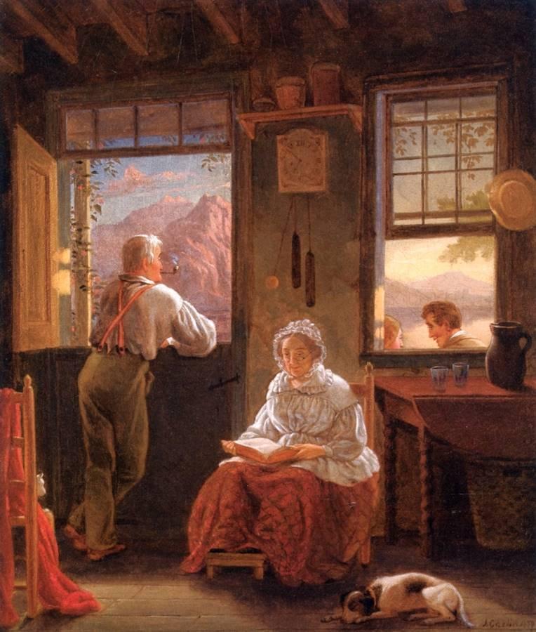 Απόγευμα Κυριακής - John Carlin - 1859