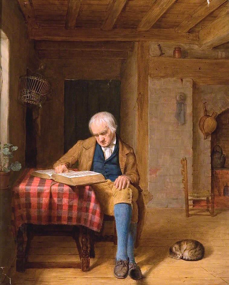 Κυριακάτικο απόγευμα -Edward Thompson Davis - 1853