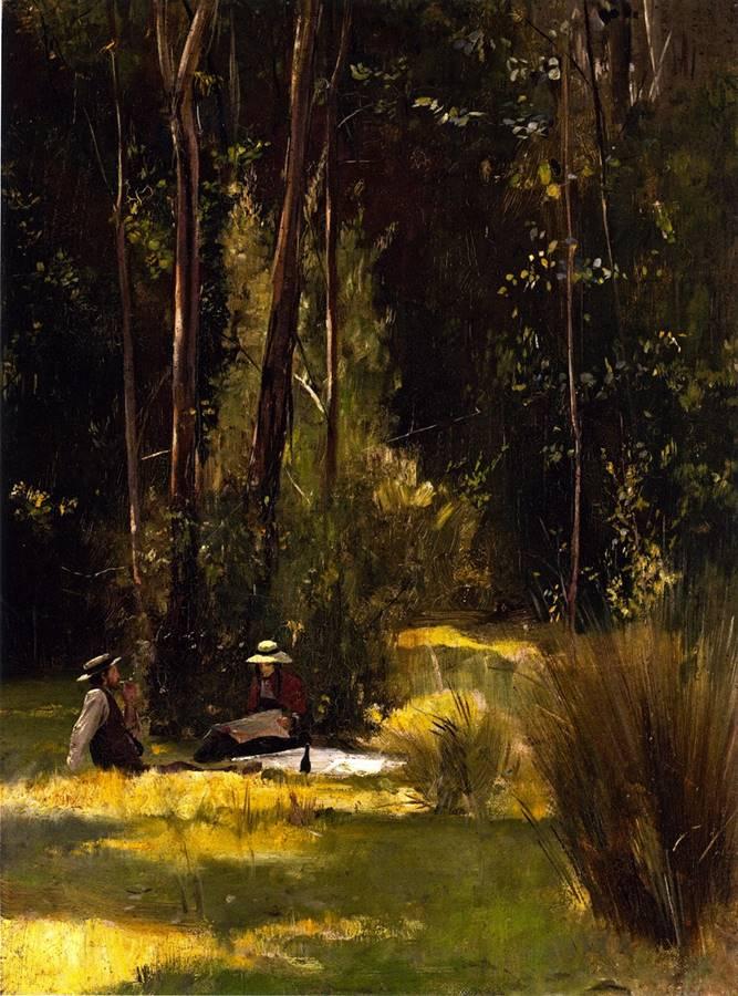 Την Κυριακή το απόγευμα για πικ-νικ στο Box Hill - Tom Roberts - 1887