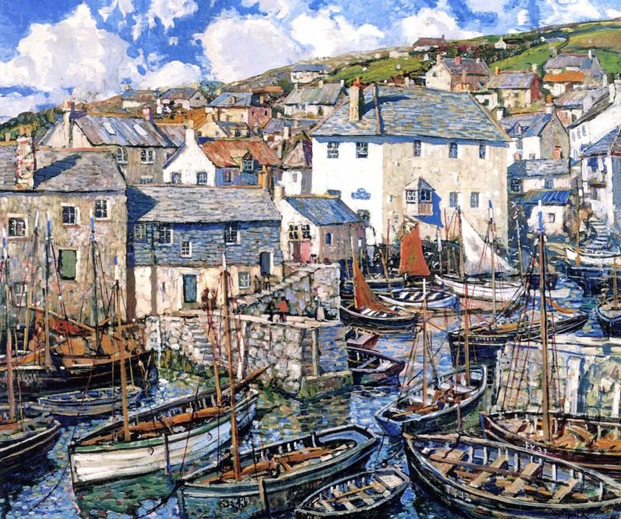 Το λιμάνι την Κυριακή -Walter Elmer Schofield