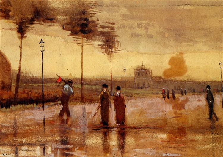 Μια Κυριακή στο Αϊντχόβεν - Vincent van Gogh
