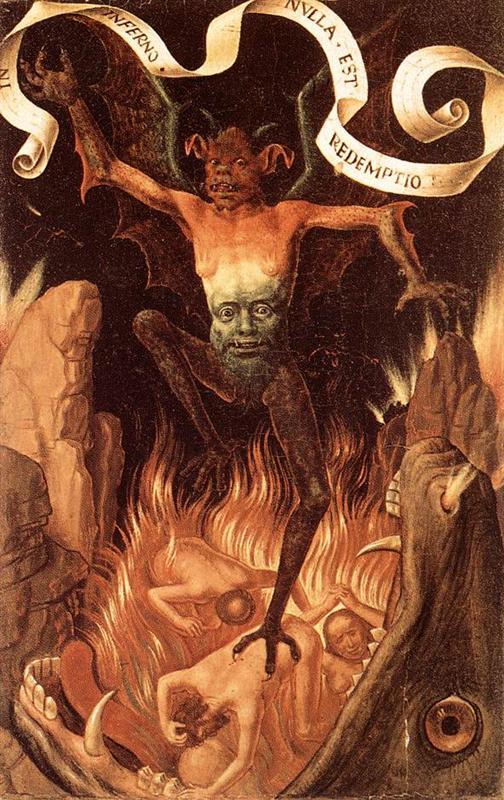 Κόλαση ή Τρίπτυχο της γήινης ματαιοδοξίας και θείας σωτηρίας - Hans Memling - 1485