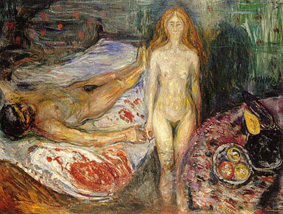 Ο θάνατος του Μαρά - Edvard Munch