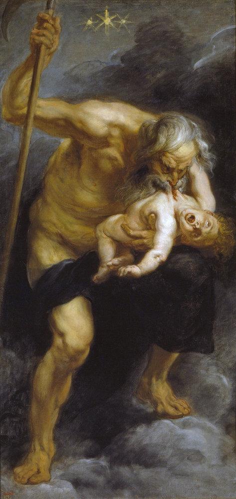 Ο Κρόνος καταβροχθίζει τον γιο του - Πέτερ Πάουλ Ρούμπενς 1638