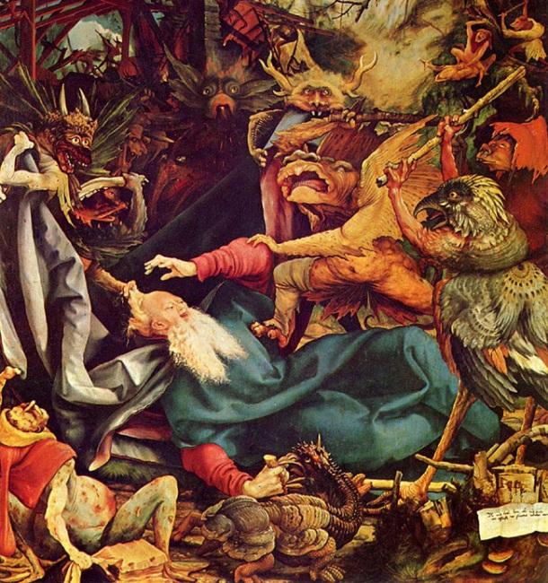 Ο πειρασμός του Αγίου Αντωνίου - Matthias Grunewald