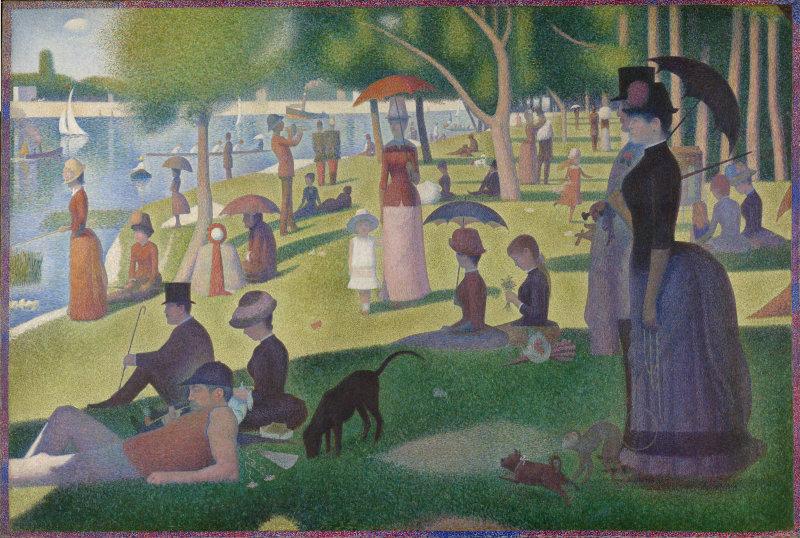 Μια Κυριακή στο La Grande Jatte - Georges Seurat 1884