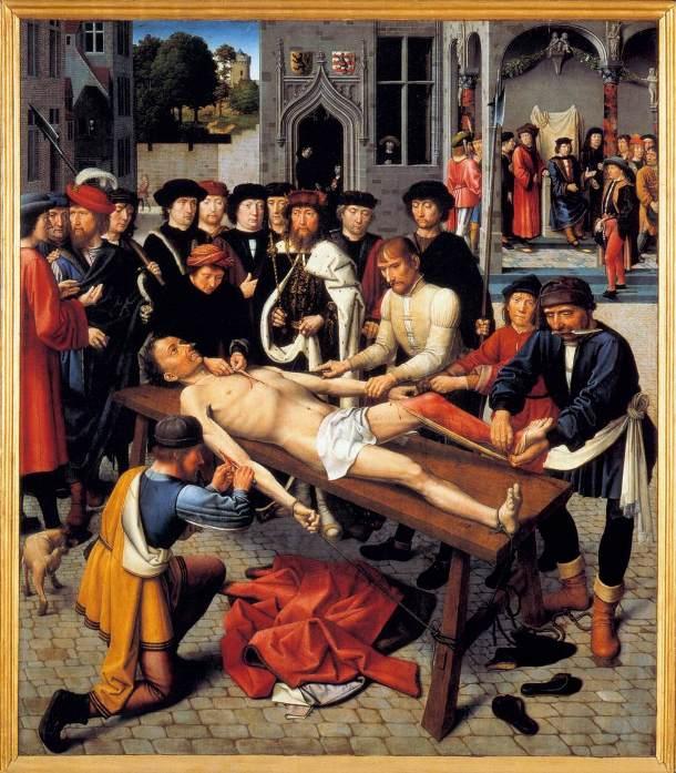 Η εκδορά του διεφθαρμένου δικαστή Σισάμνη- Τζέραλντ Ντέιβιντ, 1498