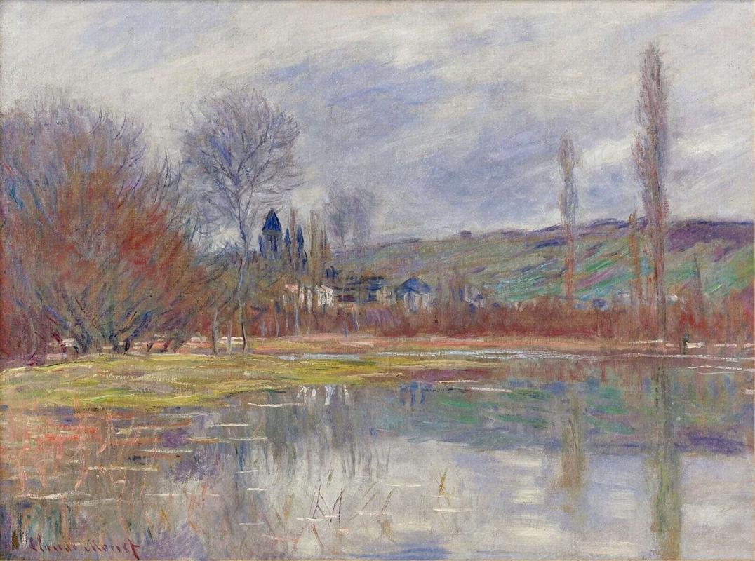 Η Άνοιξη στο Vetheuil 1881