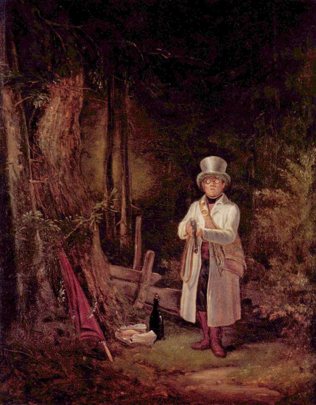 Το Κυριακάτικο κυνήγι - Carl Spitzweg 1845