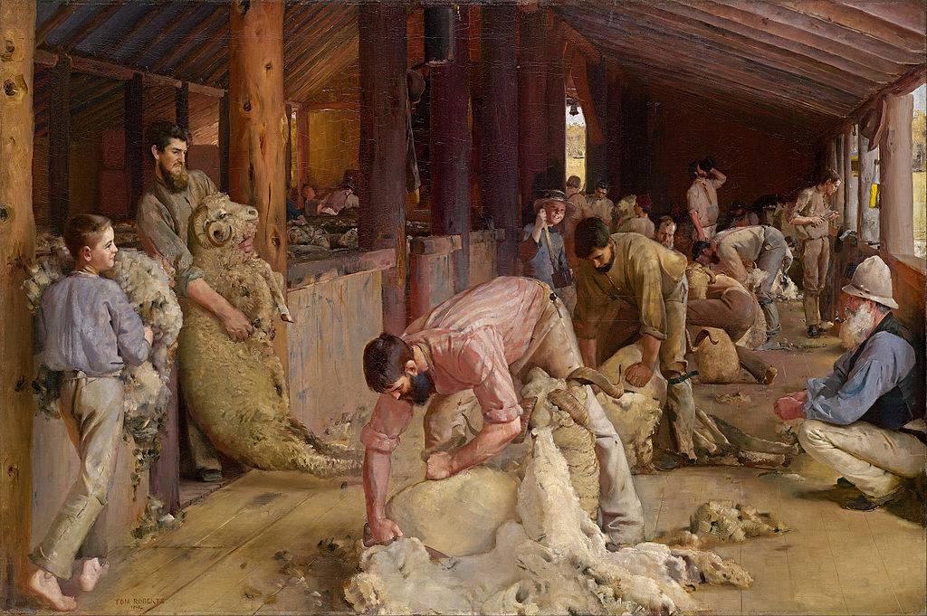 """""""Η κούρα των προβάτων"""" του 1890"""