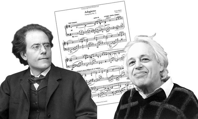 Το Adagietto της 5ης Συμφωνίας του Γκούσταβ Μάλερ (αριστερά) γοήτευσε όλους σχεδόν τους εθελοντές, οι οποίοι το έκριναν ως όμορφο. Αντιθέτως το Κοντσέρτο για βιολί του Γκιόργκι Λιγκέτι (δεξιά) κρίθηκε ως άσχημο από την πλειονότητα των εθελοντών.