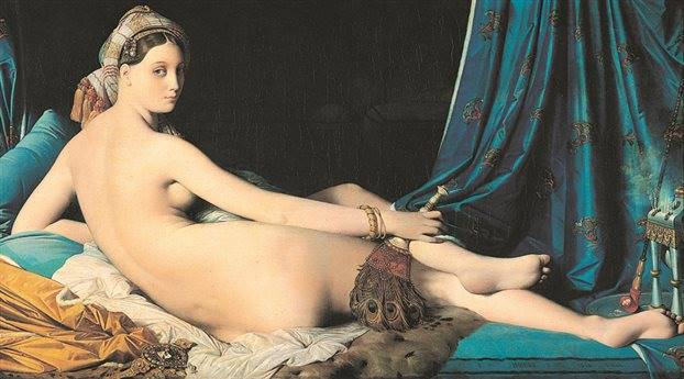 Η «Μεγάλη Οδαλίσκη» του Ζαν-Ογκύστ-Ντομινίκ Ενγκρ ήταν ένας πίνακας που κρίθηκε ως ωραίος από τους περισσότερους εθελοντές - αλλά όχι από όλους
