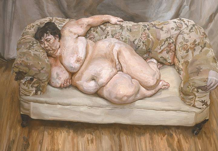 «Η ελεγκτής επιδομάτων ενώ κοιμάται» του Λούσιαν Φρόιντ είναι ένα έργο με μεγάλη καλλιτεχνική και οικονομική αξία. Κρίθηκε όμως ως άσχημο από τους περισσότερους εθελοντές.