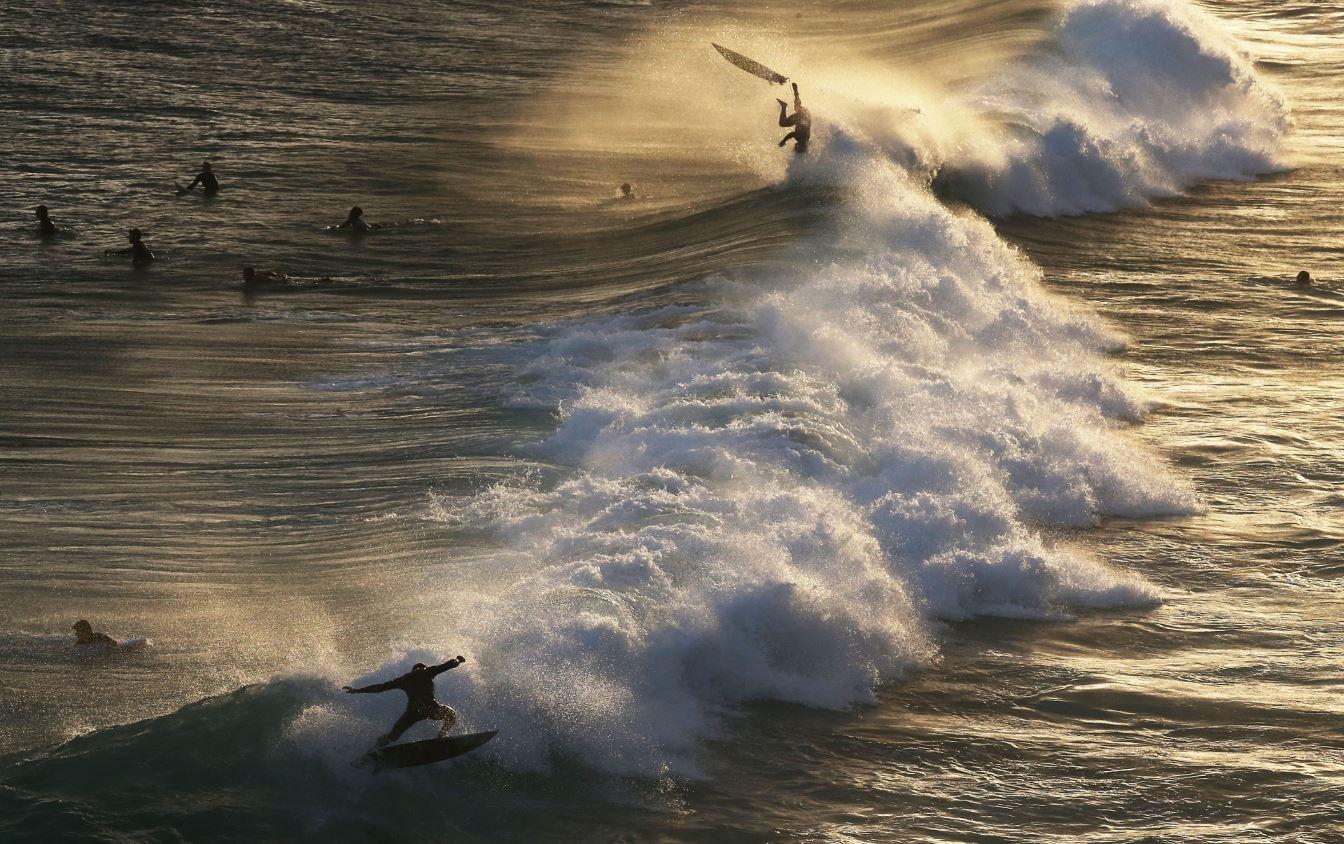 Στιγμιότυπο από την παραλία Ipanema, στο Rio de Janeiro. @Mario Tama