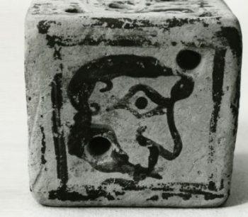 Εξάρτημα αρχαίου επιτραπέζιου παιχνιδιού