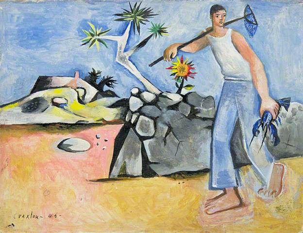 Ελληνική Ψαράς - John Craxton - 1946