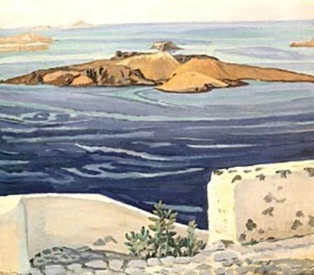 Κ. Μαλέας, Καμμένη Σαντορίνης (π. 1918).