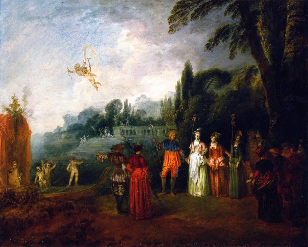 Το νησί των Κυθήρων Αντουάν Βαττώ - 1709