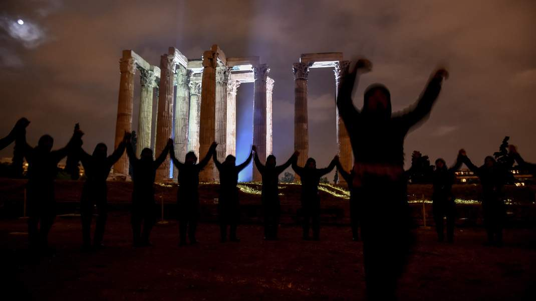 Εκδήλωση μνήμης για τη γενοκτονία των Ποντίων στους Στύλους Ολυμπίου Διός. @Intime News