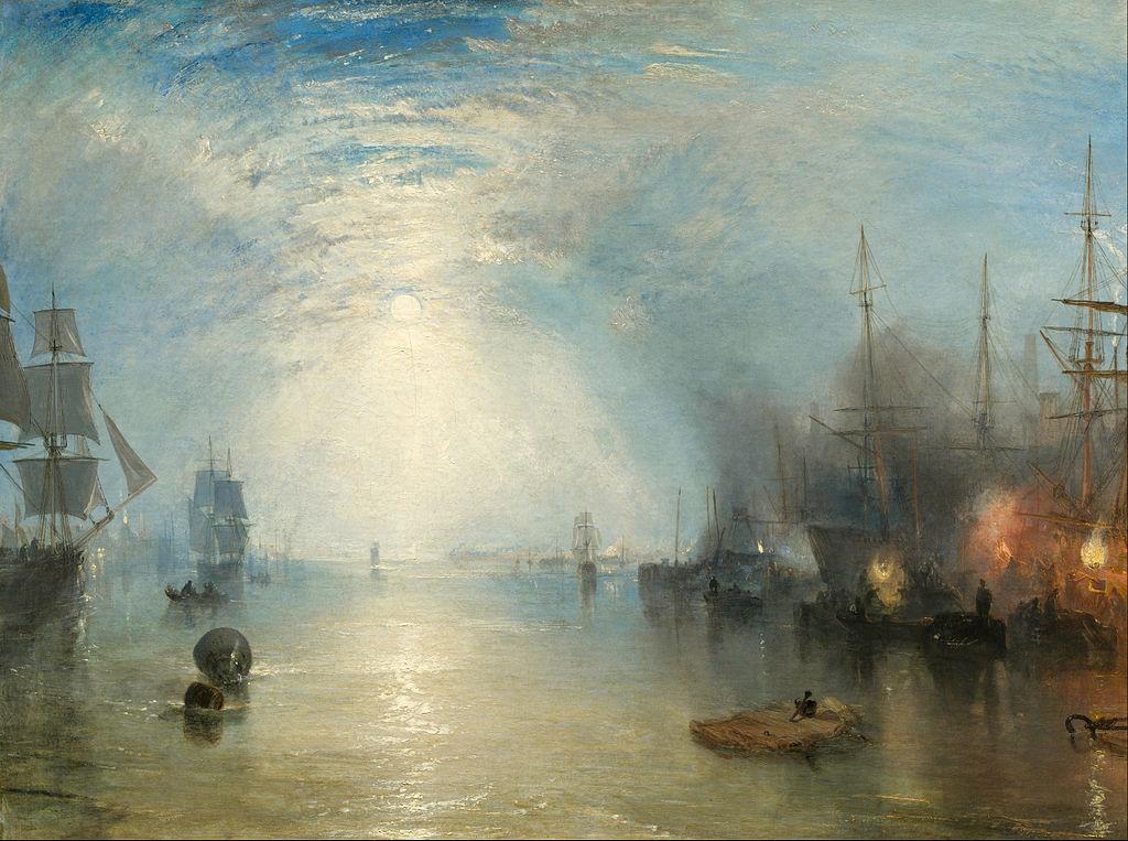 Keelmen στο φεγγαρόφωτο 1835