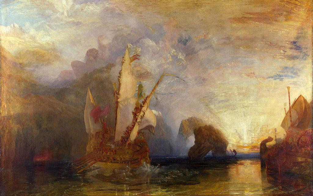 Ο Οδυσσέας κοροϊδεύει τον Πολύφημο 1829