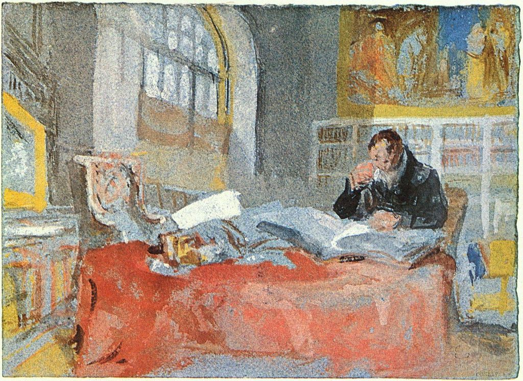 στο ατελιέ του ζωγράφου