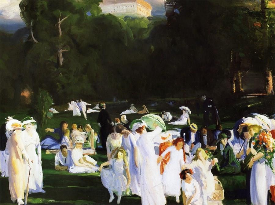 Μια μέρα του Ιούνη George Wesley Bellows - 1913