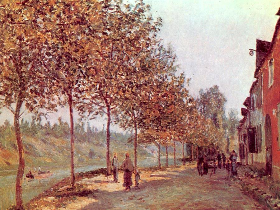 Πρωινό Ιουνίου - Alfred Sisley - 1884
