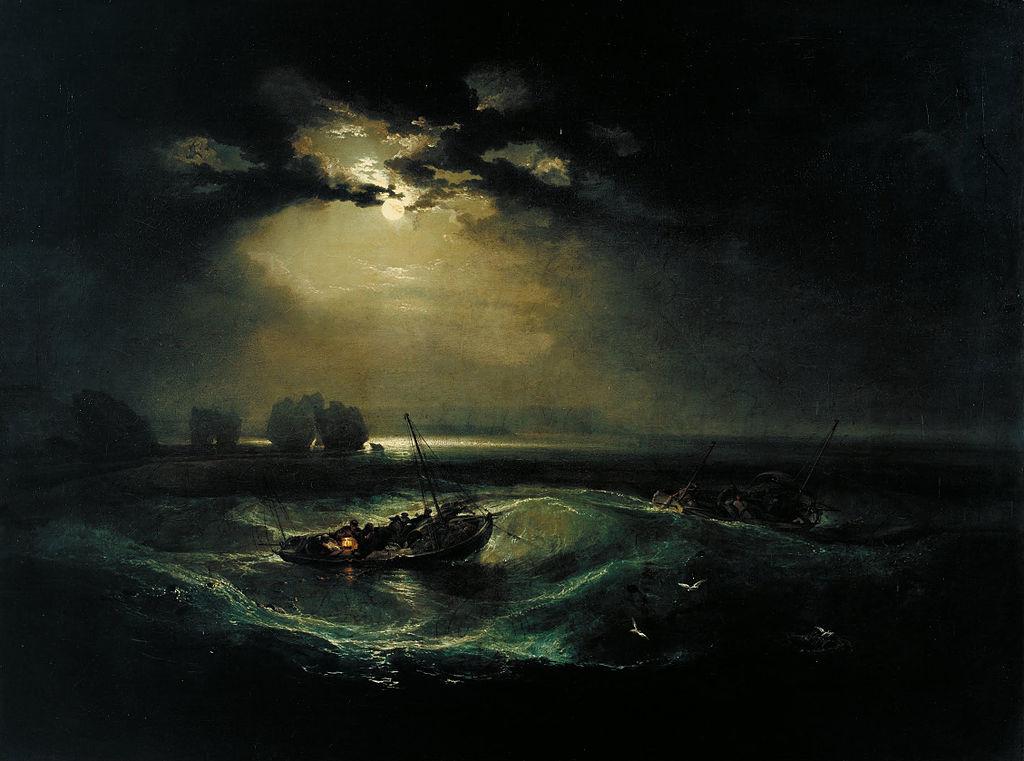 Ψαράδες στη θάλασσα 1796