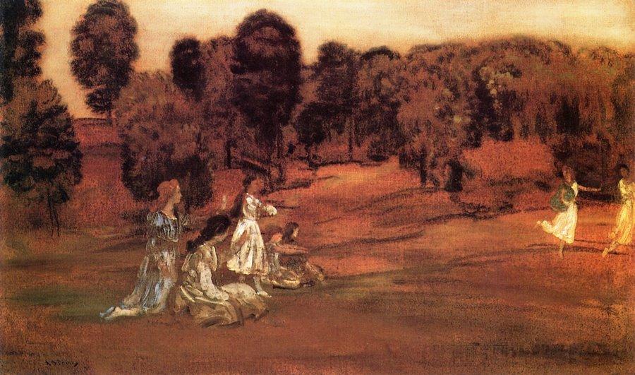 Οι ώρες κι η ελευθερία των αγρών -Arthur B. Davies