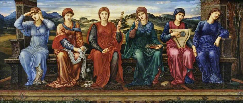 Οι ώρες - Sir Edward Burne-Jones - 1882