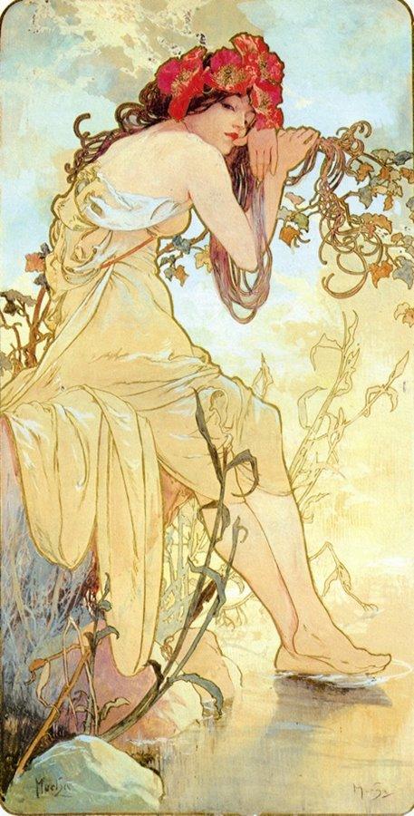 Alfons Maria Mucha - 1896