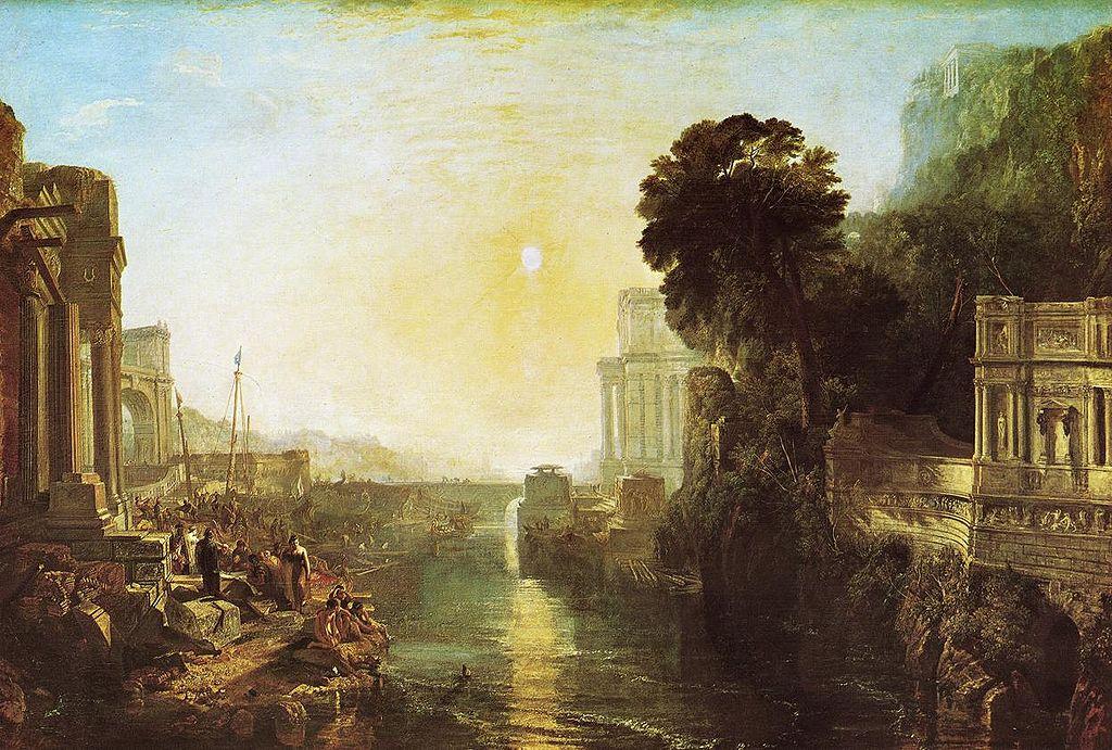 Η Διδώ ιδρύει την Καρχηδόνα 1815