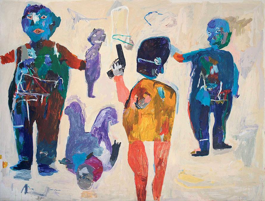 Yaser Safi. – Sans titre, 2012 - Mark Hachem gallery