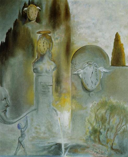 Ο Κήπος Των Ωρών - Salvador Dali 1981