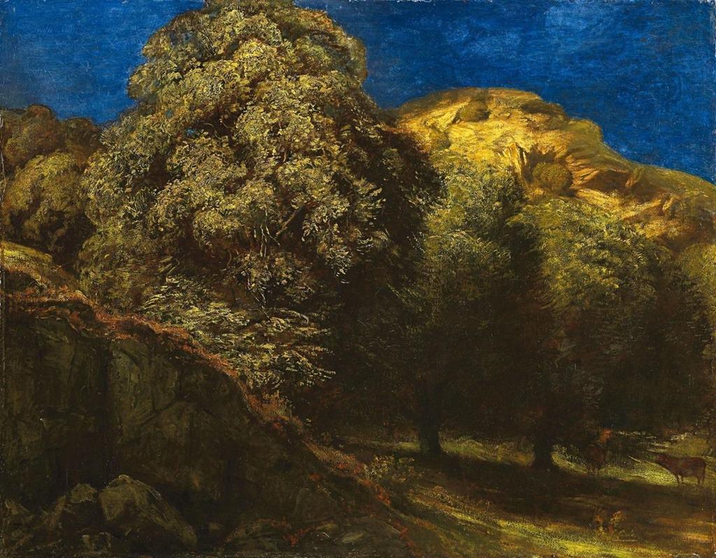 Μέλας Δρυμός αργά το καλοκαίρι - Hans Thoma - 1892