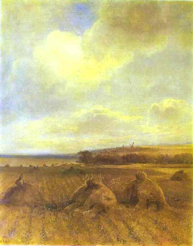 Το τέλος του καλοκαιριού στον ποταμό Βόλγα Alexei Kondratyevich Savrasov - 1873