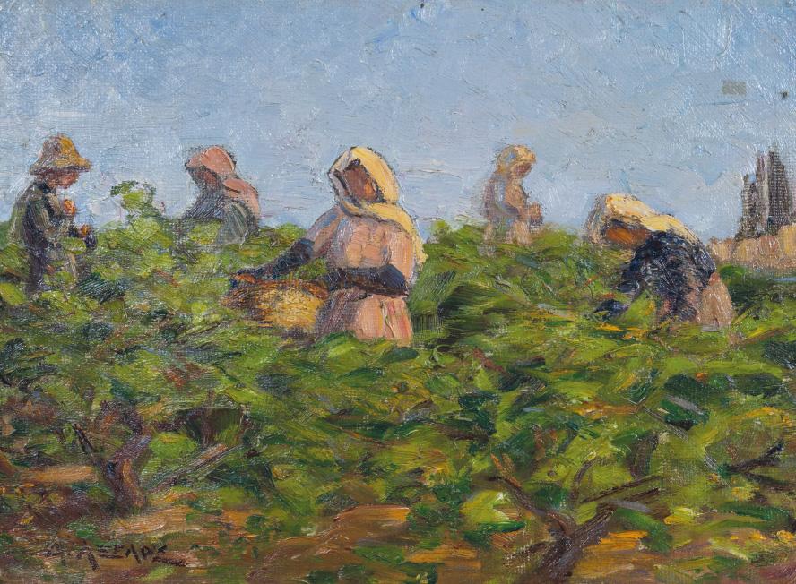 Μιχαήλ Αξελός - «Ο τρύγος», 1924